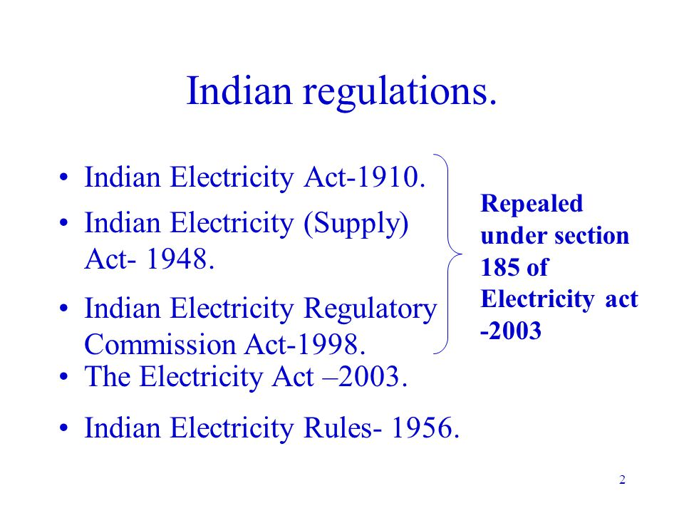 1 Indian regulations in Electrical Safety P.Lahiri BARC