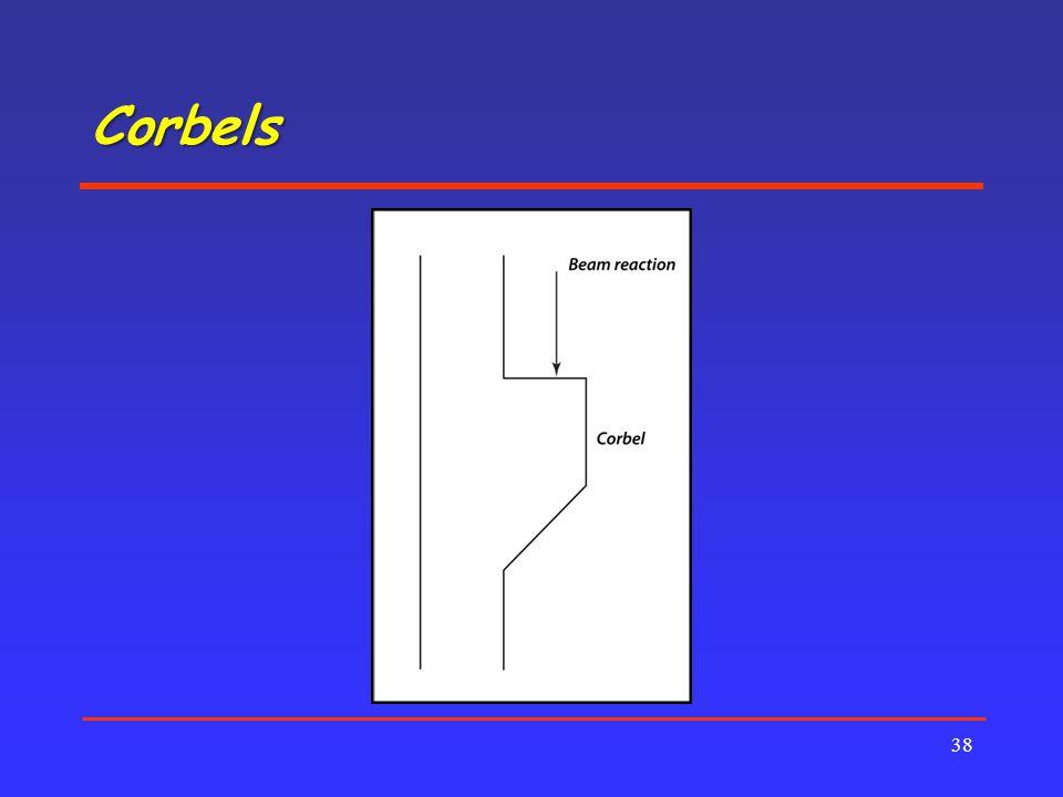 Corbels 38