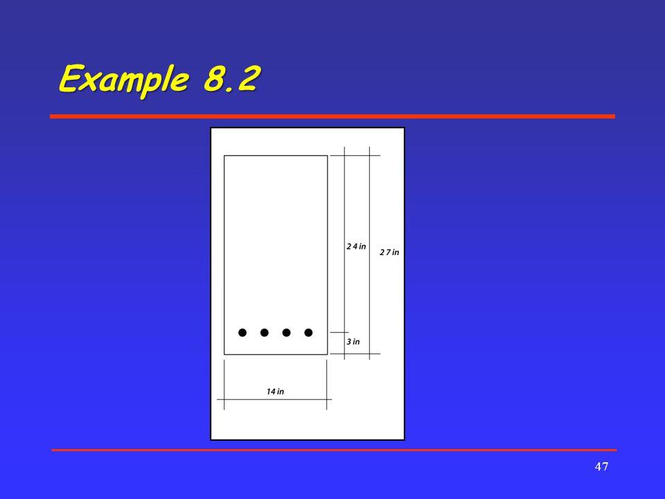 Example 8.2 47