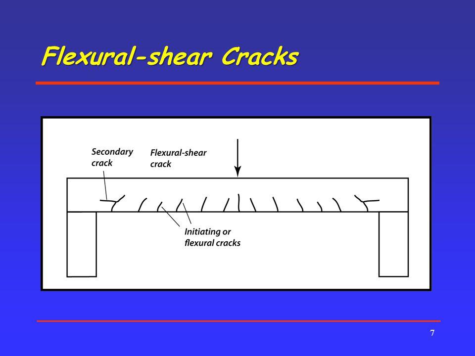 Flexural-shear Cracks 7