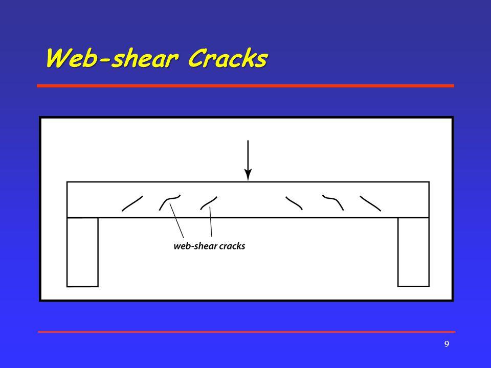 Web-shear Cracks 9
