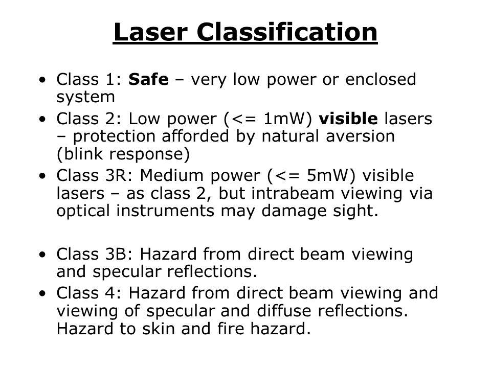 University safety officer University laser safety adviser School/Dept.