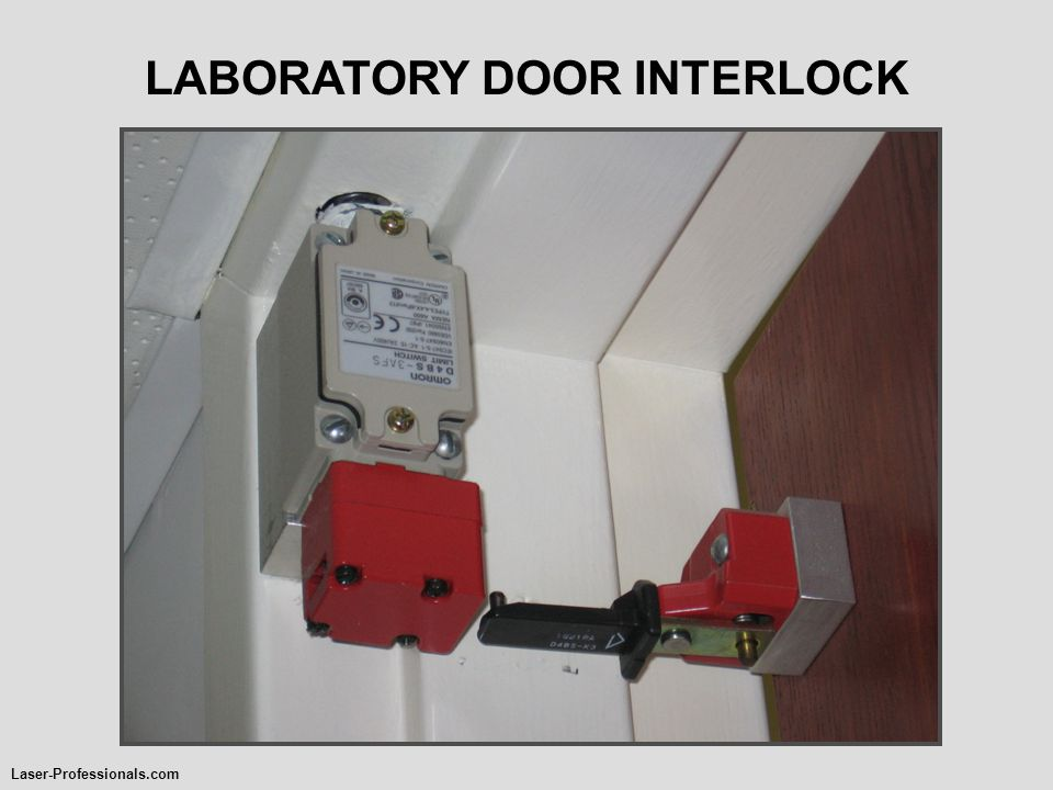 LABORATORY DOOR INTERLOCK Laser-Professionals.com