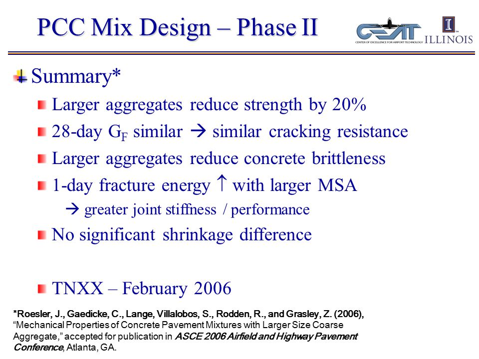Fracture Energy  Shear Stiffness  Joint Performance *need crack width.