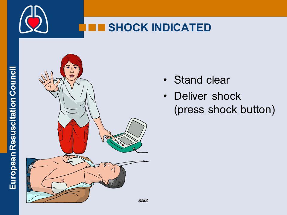 European Resuscitation Council Ventricular fibrillation Ventricular tachycardia Asystole Electro-mechanical disociation (EMD) Pulseless ventricular ac