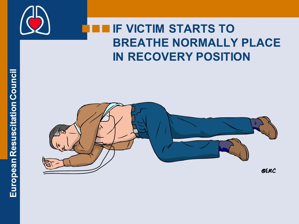 European Resuscitation Council Safety of rescuer Do not touch the victim during analysis, charging or delivery of a shock Use protective gloves