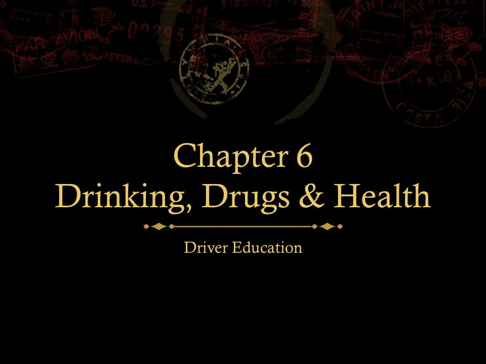 Alcohol The negative effects of alcohol on an individual.