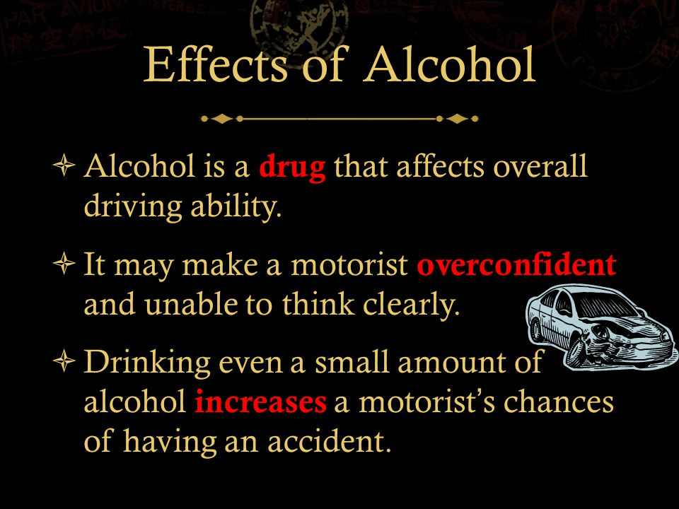 Impaired Driving Statistics  For young drivers (15-20 years old), alcohol involvement is higher among males than among females.