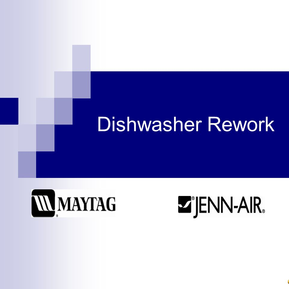 Dishwasher Rework
