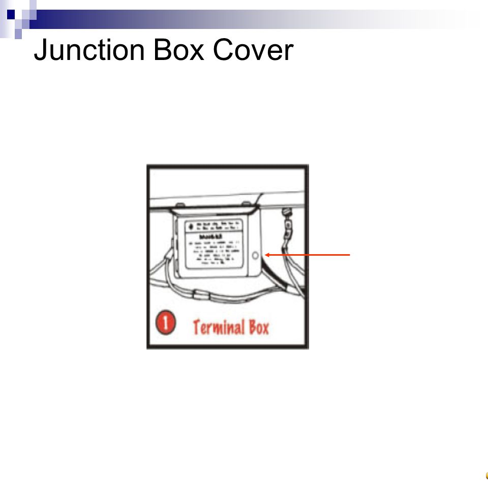 Junction Box Cover