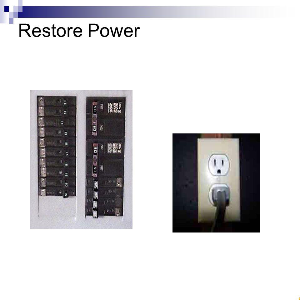 Restore Power