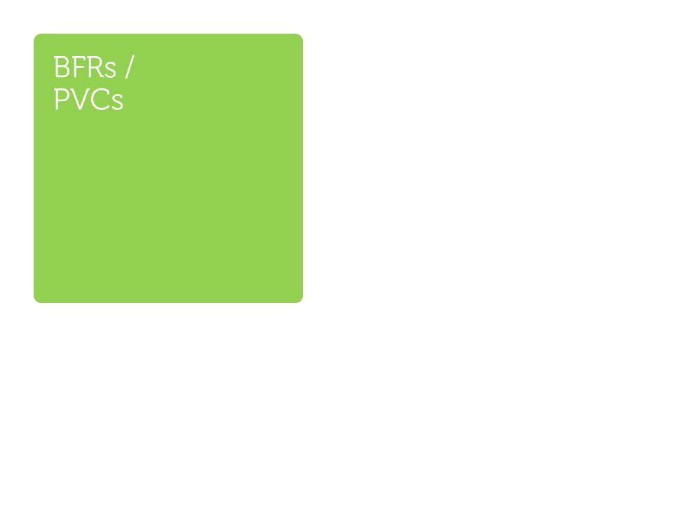 BFRs / PVCs