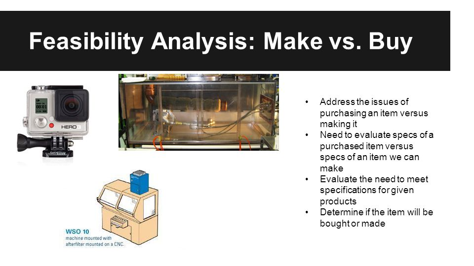 Feasibility Analysis: Make vs.