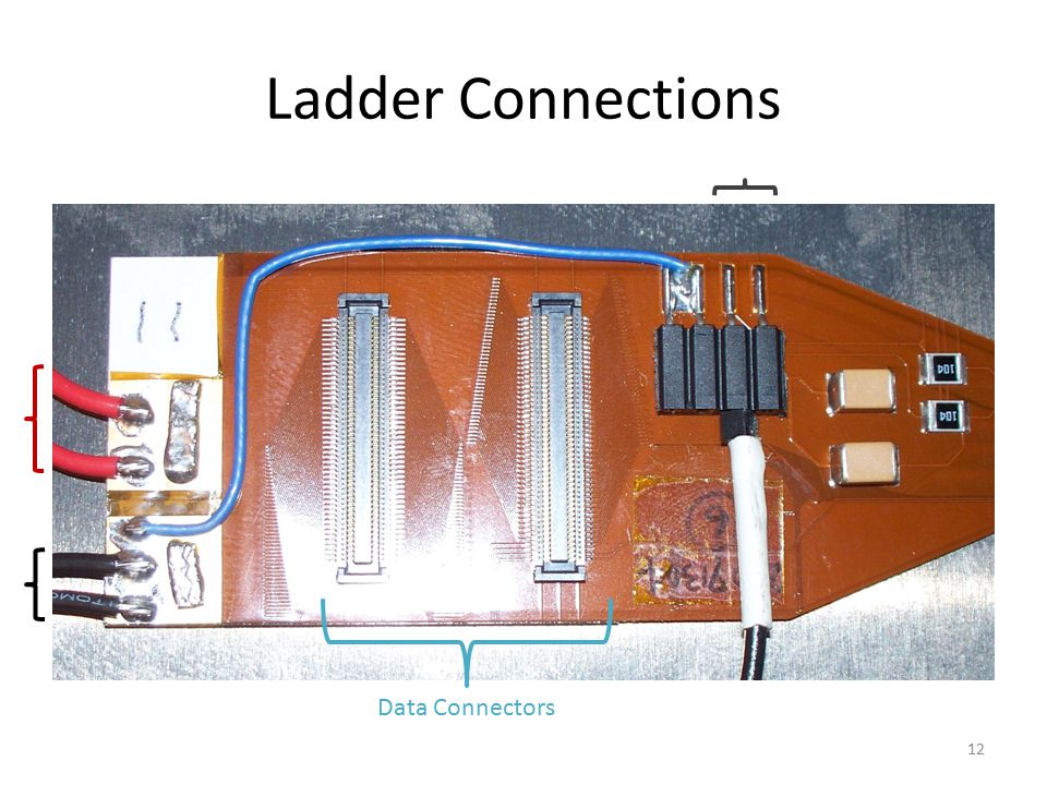 Ladder Connections 12 Data Connectors