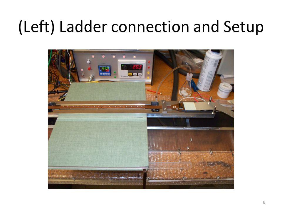(Left) Ladder connection and Setup 6