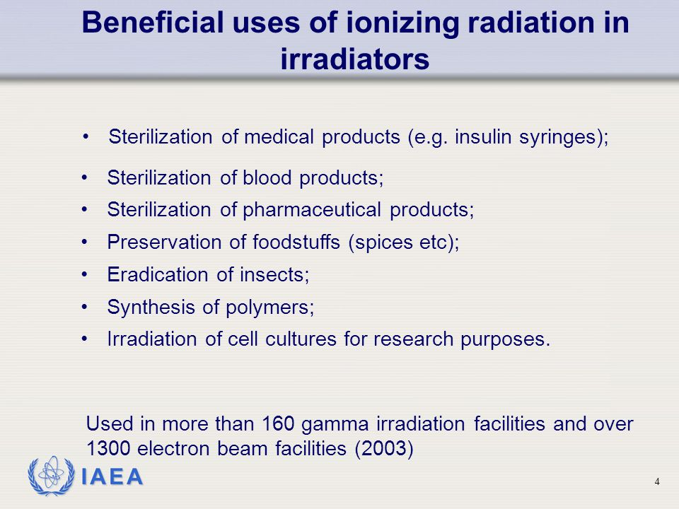 IAEA Need for an adequate radiation safety program (cont) 25
