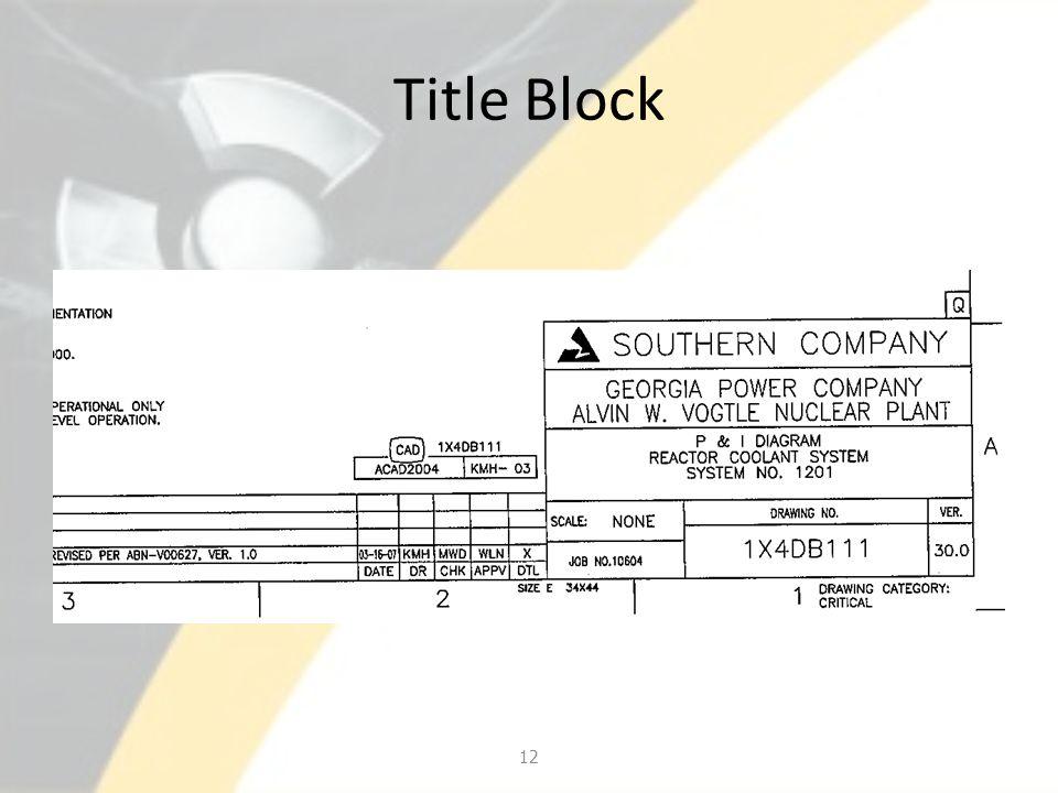 Title Block 12