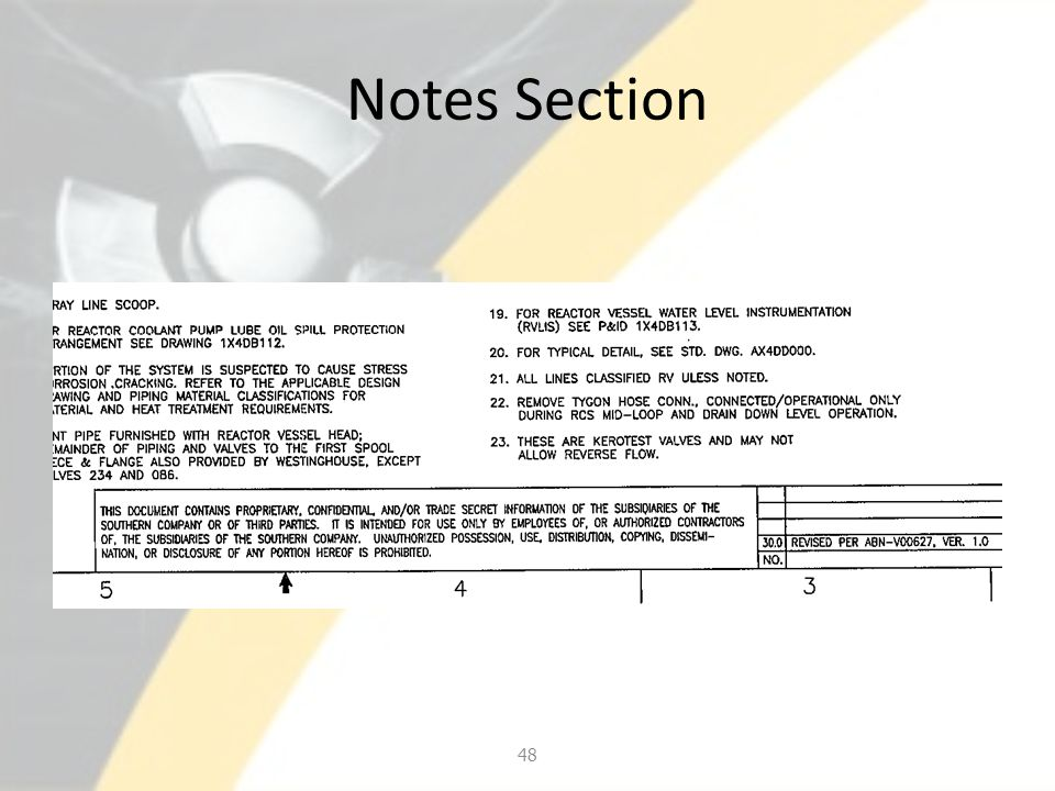 Notes Section 48