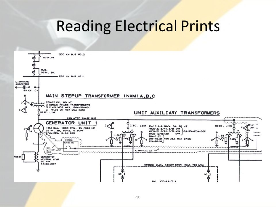 Reading Electrical Prints 49