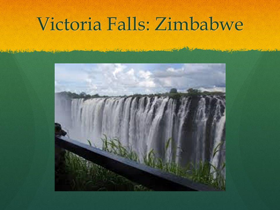 Victoria Falls: Zimbabwe