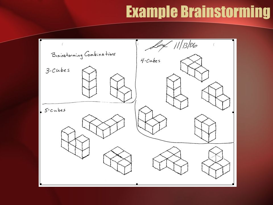Example Sketched Solution