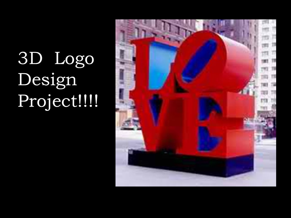 3D Logo Design Project!!!!