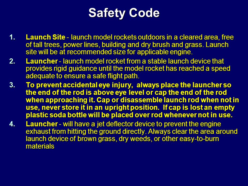 Rocket Preparation Rocket Preparation
