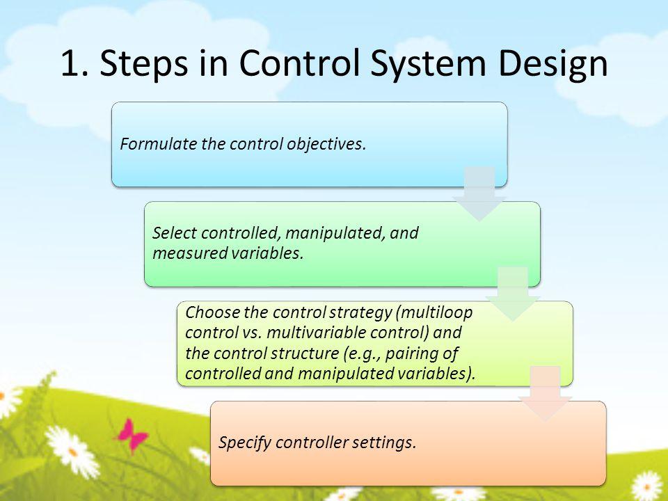Process Safety & Process Control Process alarms Types of alarms: Type 1 Alarm: Equipment status alarm.
