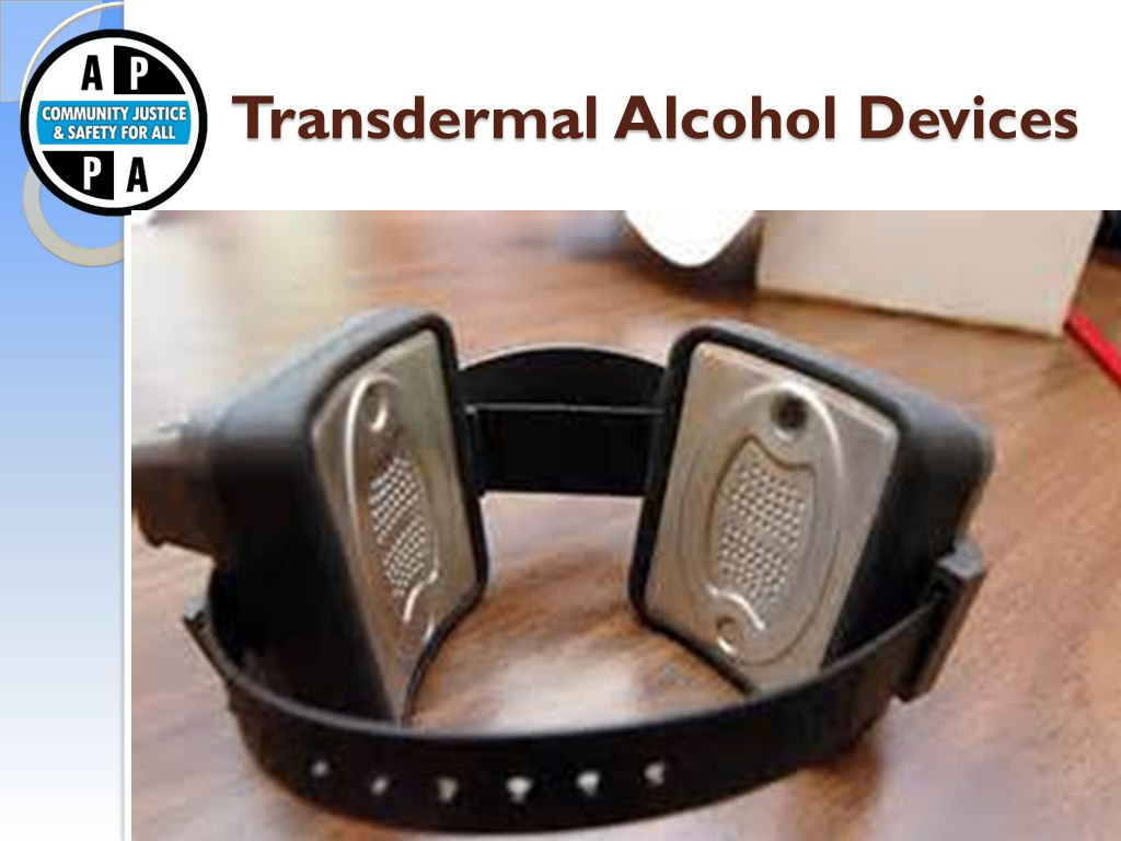 Transdermal Alcohol Devices Transdermal Alcohol Devices