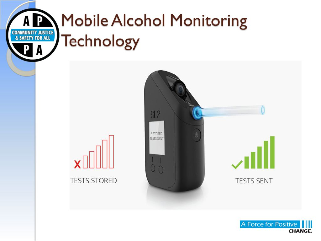 Mobile Alcohol Monitoring Technology