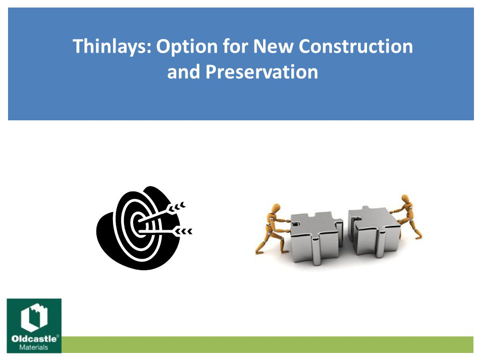 Thinlays: Option for New Construction and Preservation