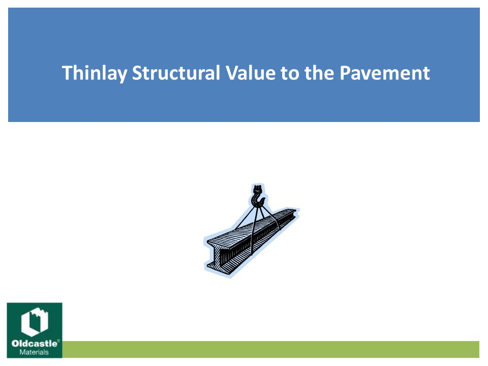 Thinlay Structural Value to the Pavement