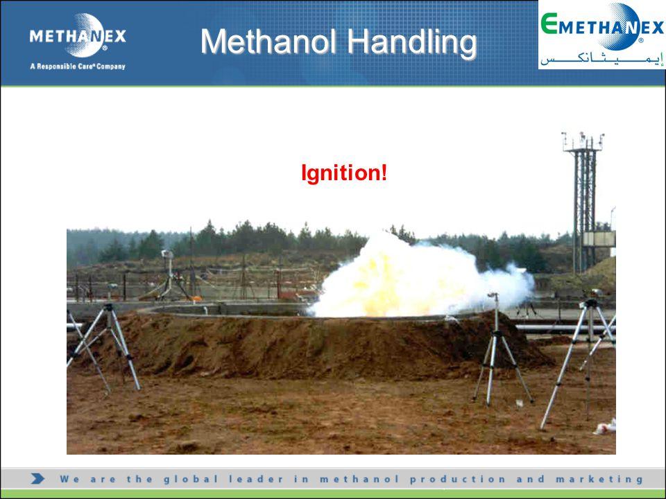 Ignition! Methanol Handling