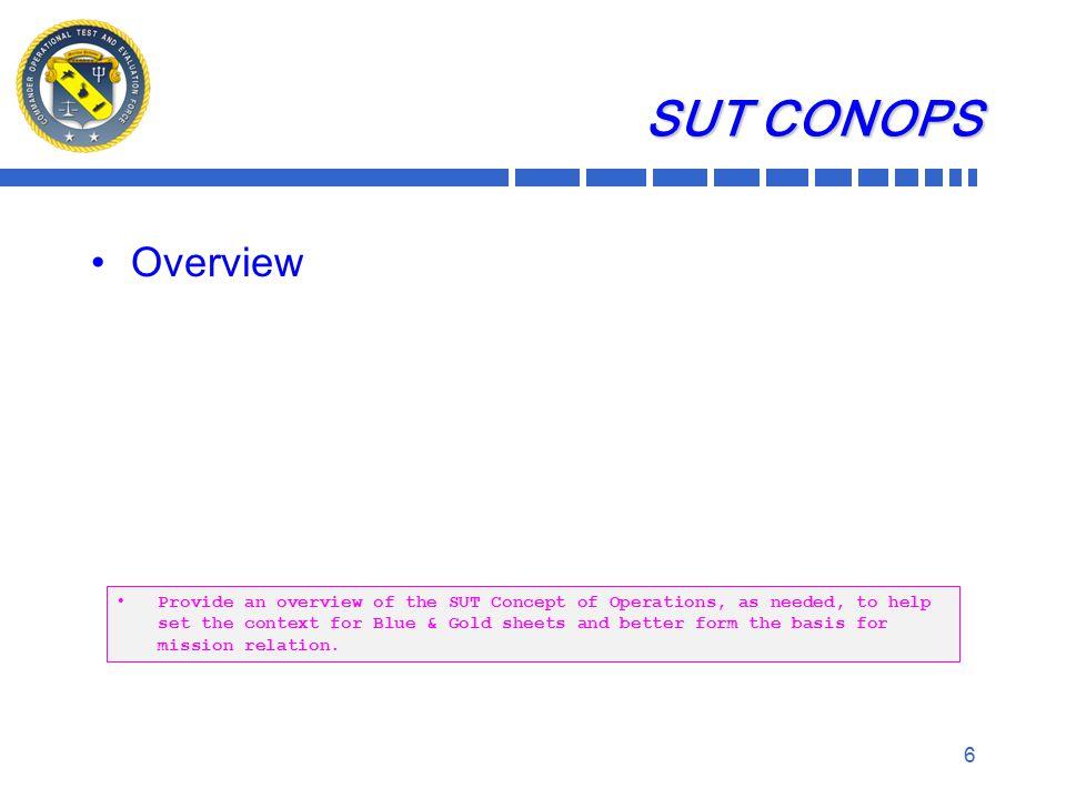 7 SoS Description The (program name) SoS consists of: Provide a description of the SoS components.
