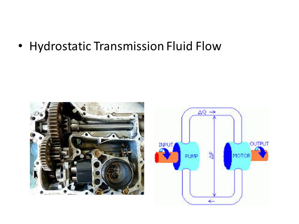 Hydrostatic Transmission Fluid Flow