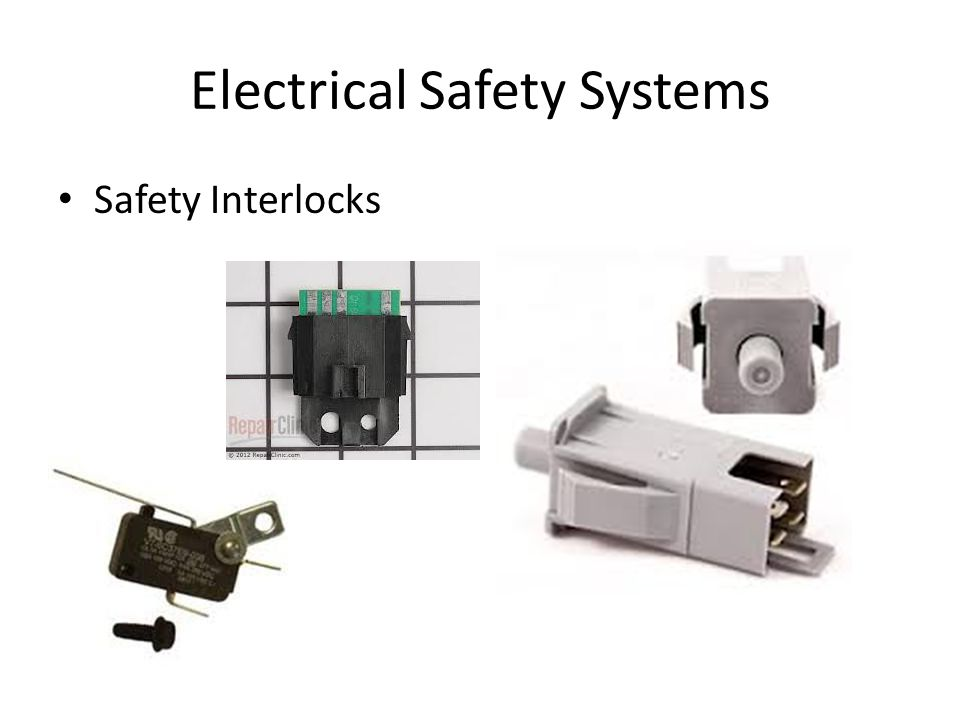 Electrical Safety Systems Safety Interlocks