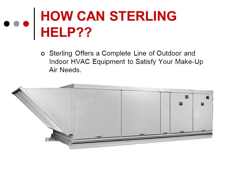 HOW CAN STERLING HELP .