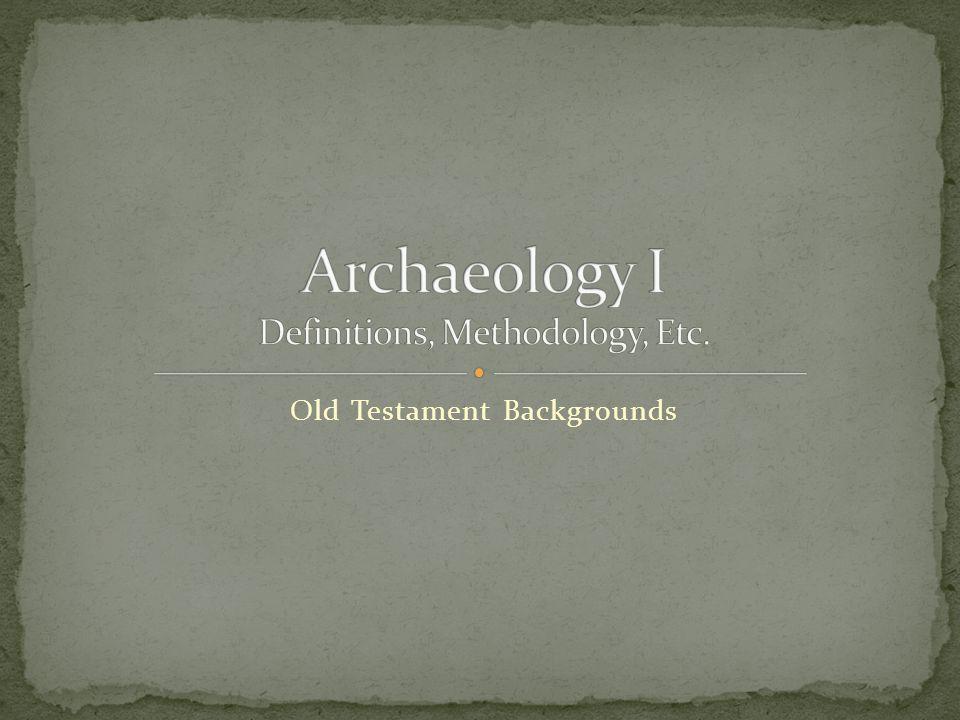 Old Testament Backgrounds