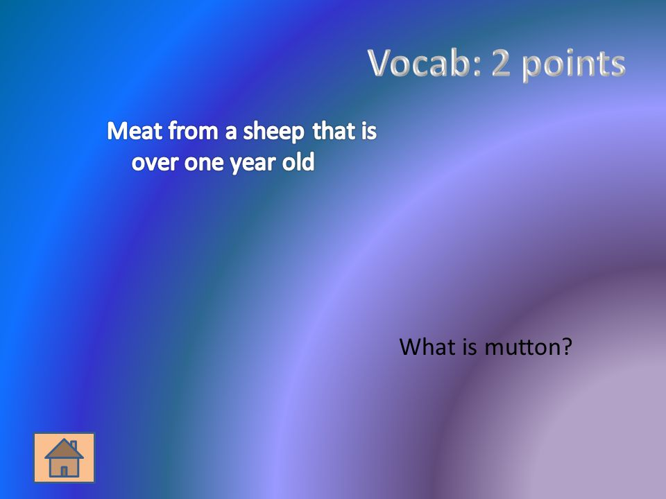 What is mutton?
