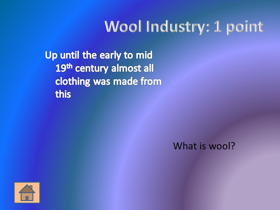 What is wool