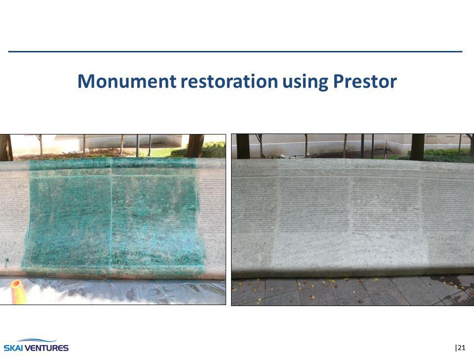 |21 Monument restoration using Prestor