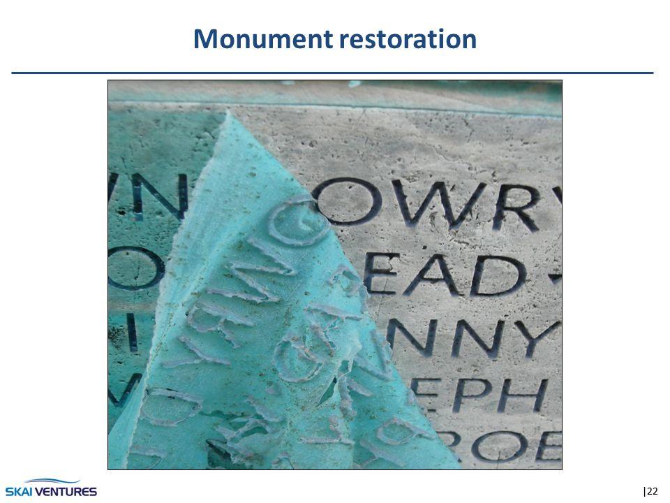 |22 Monument restoration