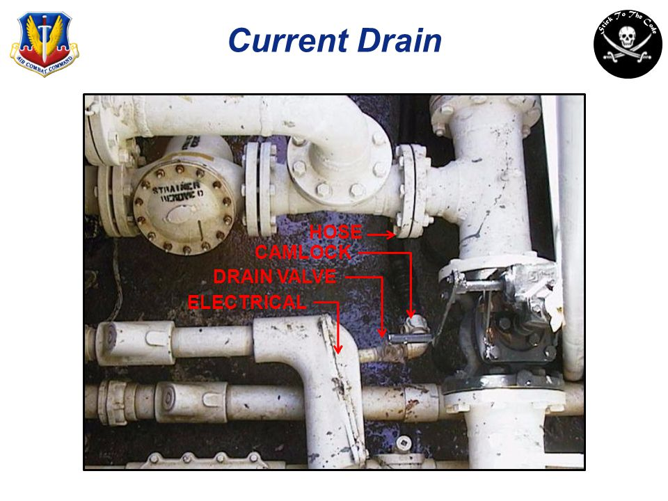 Current Drain HOSE CAMLOCK DRAIN VALVE ELECTRICAL