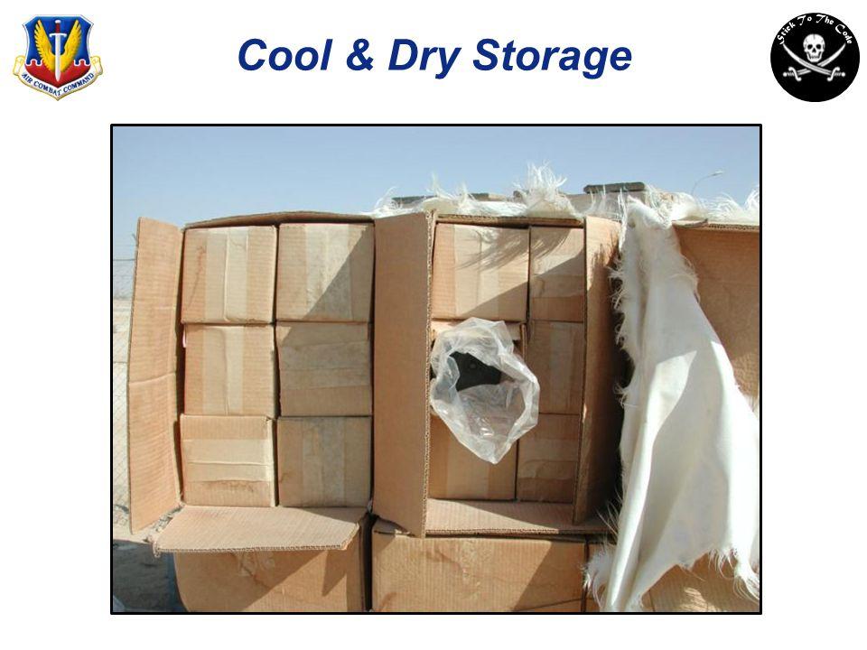 Cool & Dry Storage