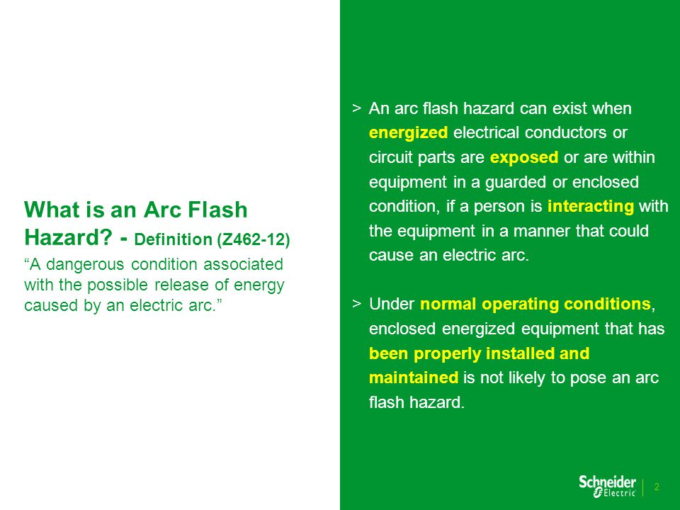 What is an Arc Flash Hazard.