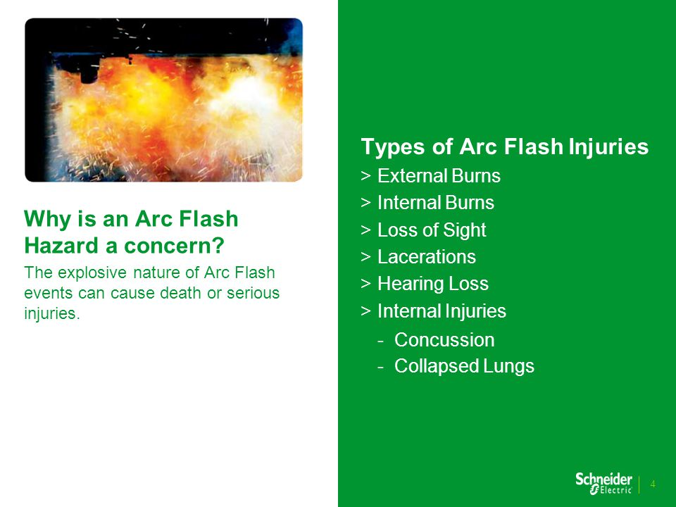 You must understand and manage your Arc Flash incident risks It is your responsibility to ensure risks are identified and appropriate mitigation is applied.