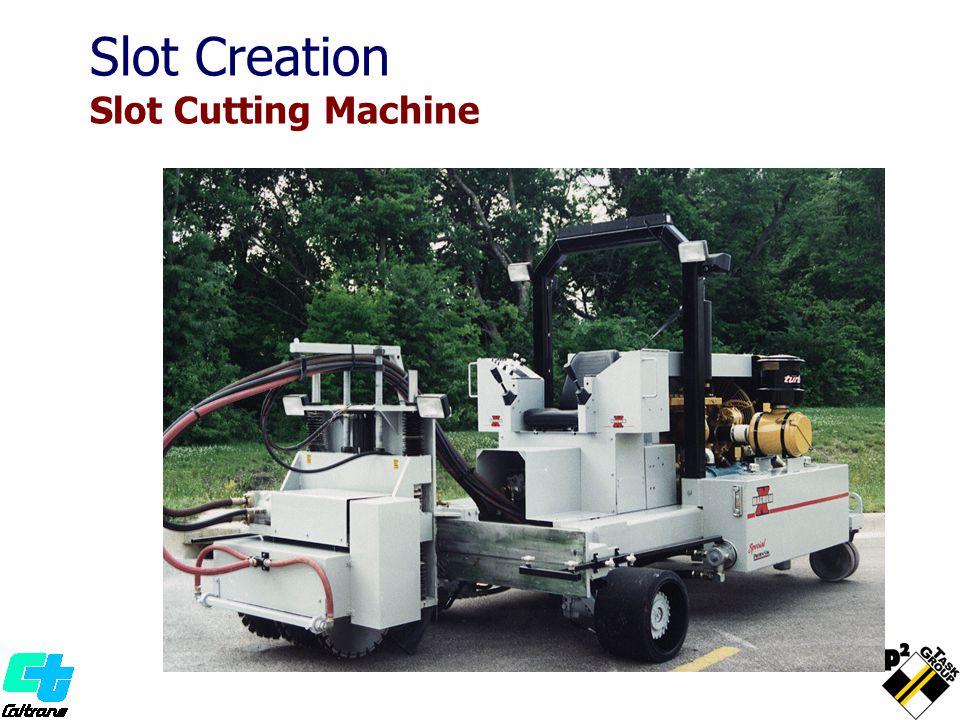 Slot Creation Slot Cutting Machine