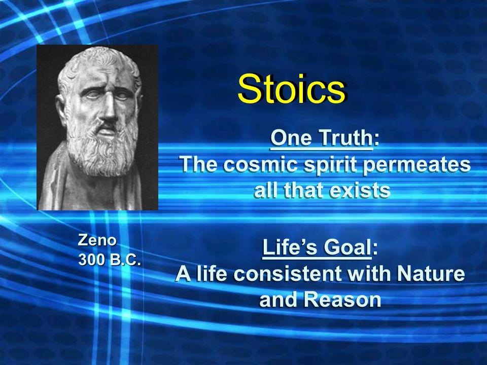 Zeno 300 B.C.