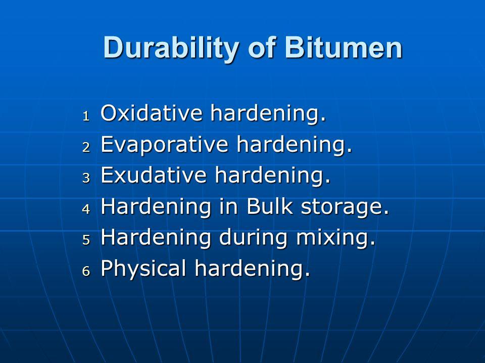 Factors Affecting Adhesion Bitumen Bitumen RheologyRheology ConstitutionConstitution Mix Mix Void content Permeability Bitumen content Bitumen film thickness Filler type Aggregate grading Mix type
