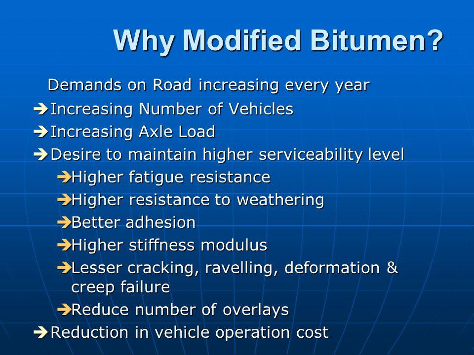 MODIFIED BITUMEN Binder of the future